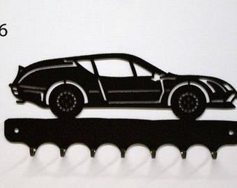 Hangs 26 cm pattern metal keys: alpine Renault A310