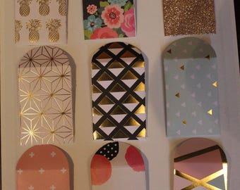 Decorative Mini Envelopes