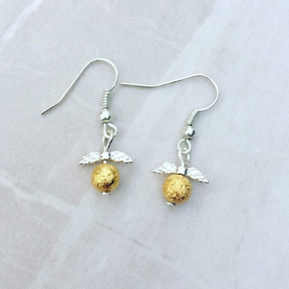 golden snitch earrings golden snitch earrings harry potter inspired earrings drop 1212