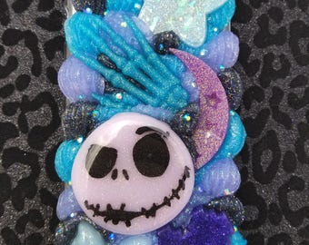 Nightmare before Christmas Halloween pastel goth decoden cell phone case for iphone 6/6s