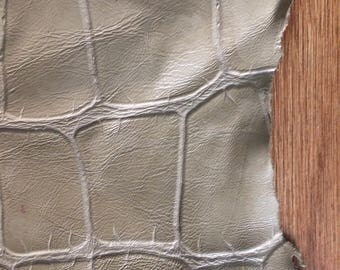 Faux Embossed Leather