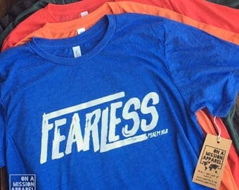 Rachel Fearless Middle School Mission Team Tees
