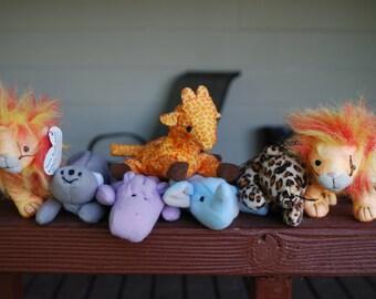 Teenie Beanie Baby - Safari Collection