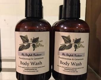 Frankincense & Geranium Body Wash