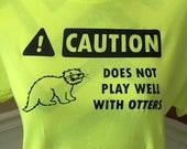 Otter Puns Shirt - Animal...