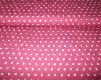 Cotton star 10mm pink
