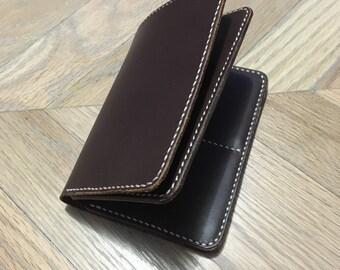 Mid-Length Wallet - Handstitched