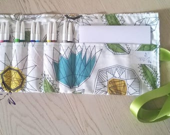 Fabric color bag case
