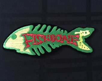 Vintage 90's Fishbone Patch