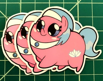 Pony Chubs! Aloe Sticker