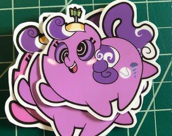 Pony Chubs! Screwball Sticker