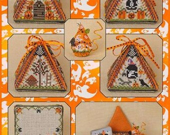 "JUST NAN ""Haunted Autumn Mouse In A House"" 