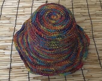 THC Free Bohemian Hemp Sun Hat