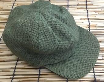 Eco Friendly Bohemian THC Free Hemp Cap