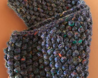 Infinity scarf for adult  very earm and cozy  30 inces by 5 inches
