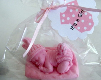 15 Sleeping Baby Soap Favors Baby Shower Soap Favors Newborn Baby Soap  Favor Its A Girl