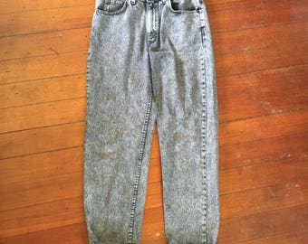 Vintage Grey Jeans- high waisted