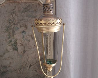 Antique procession lantern from France