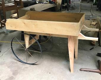 Garden Cart / Wheel Barrel/ Vendor Cart