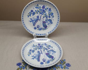 Lotte Turi by Figgjo Flint  Bread and Butter Plates x 2