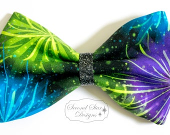 Fireworks // Interchangeable Bow for Mouse Ears Headband or Hair // Clip-on Bow Tie