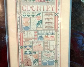 Vintage Dimensions Counted Cross Stitch Kit Country Collections