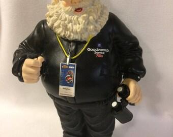 Dale Earnhardt Santa Figurine
