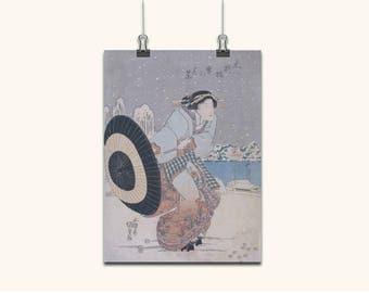 JAPANESE ART Japanese Wall Art Japanese Prints Japanese Wall Art Vintage Style Japanese Woman Home Decor Japanese Antique Wall Hangings 663