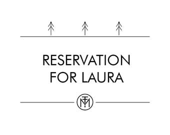 Reservation for Laura