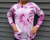 Long sleeve tie dye swirl