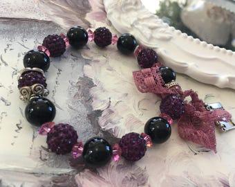 romantic bracelet muscats and blackberries