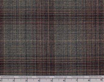 "Scottish Poly Rayon Plaid Stretch Suiting Fabric""LTHR3P-F072515"""