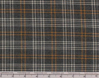 """Ditmas Poly Rayon Plaid Stretch Suiting Fabric""""LTHR3P-2348"""""""