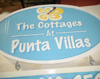 Sign, Address, Street, Wooden, Custom Designed, Carved, Rustic, Weather Resistant,