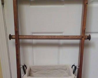 Rustic Jewelry Ladder