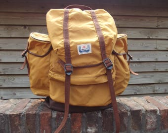 vintage backpack, rucksack, Alpinsport Zermatt, 1970s