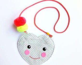Kids Purse - Little girl purse - Toddler purse - Kids Messenger - Mini Purse- Toddler bag - Cross body coin purse kids bag - Toddler Pouch