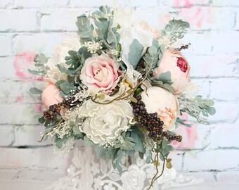 Flower wedding bouquets - Romantic