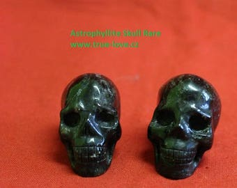 Astrophyllite Skull,Schädel,Visions,Insights,Connection with star beings,RARE ONE,small one,3,5cm.1,3inch
