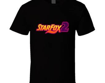 Starfox 2 Snes Unreleased Video Game T Shirt