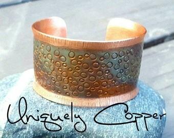 Flame Painted Copper, Copper Cuff Bracelet, Copper Bracelet, Heat Patina, Copper Cuff, Copper, Bracelet, Cuff Bracelet,   Flame Painted,