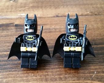 Set of Batman Cufflinks - Lego Minifigures - Cuff Links - Superhero Cufflinks - DC - Batman - Groom Cufflinks - Gift For Him - Unique