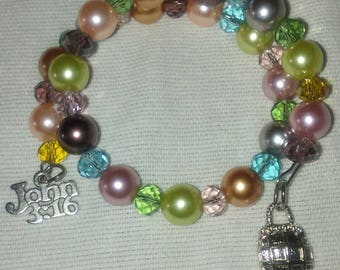 Pearls and Crystal Bracelets