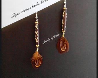 Jewelry designers earrings. Mahala