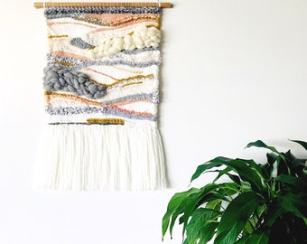 Custom Weaving | Woven Wall Hanging | Tapestry Weaving | Shag Weaving | Wall Art | Wall Decor