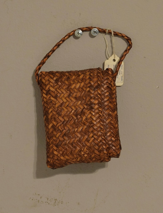 Philippines Ifuago Wallet Money Rattan Woven Handmade Woven Rattan Pouch Women Basket Purse Personel Wallet