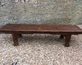 Antique c1850 Chinese rosewood oriental 8ft kang table coffee table extra long antique coffee table oriental table alter table