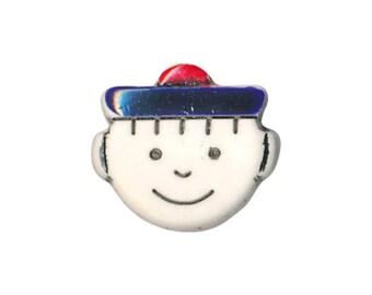 Buttons children sailor 15 mm head
