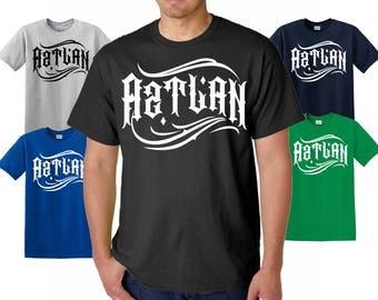 Aztlan Aztec Warrior Adult T shirt, aztlan Moctezuma Mexican Tee, Aztec Shirt, mexican shirts for men, funny t shirts, mexican girl shirts