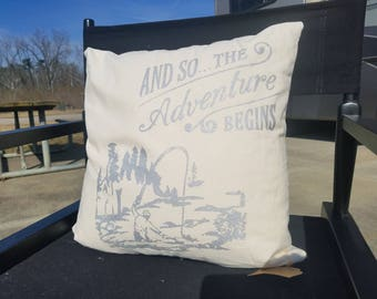 Fly Fishing Accent Pillow